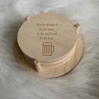 Onderzetters Mannen & drank